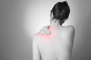 picture of woman with back pain
