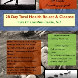 28 Day Total Health Re-set & Cleanse
