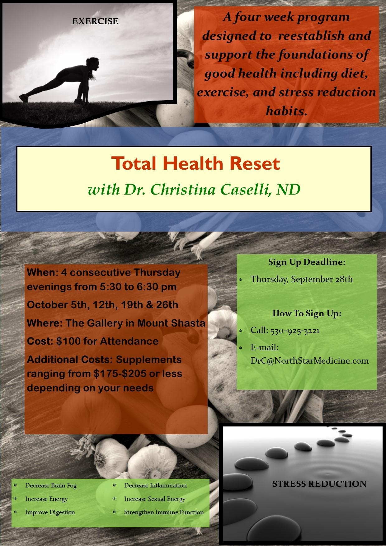 Total Health Reset