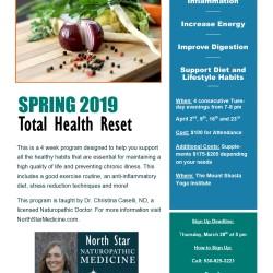 Spring Total Health Reset